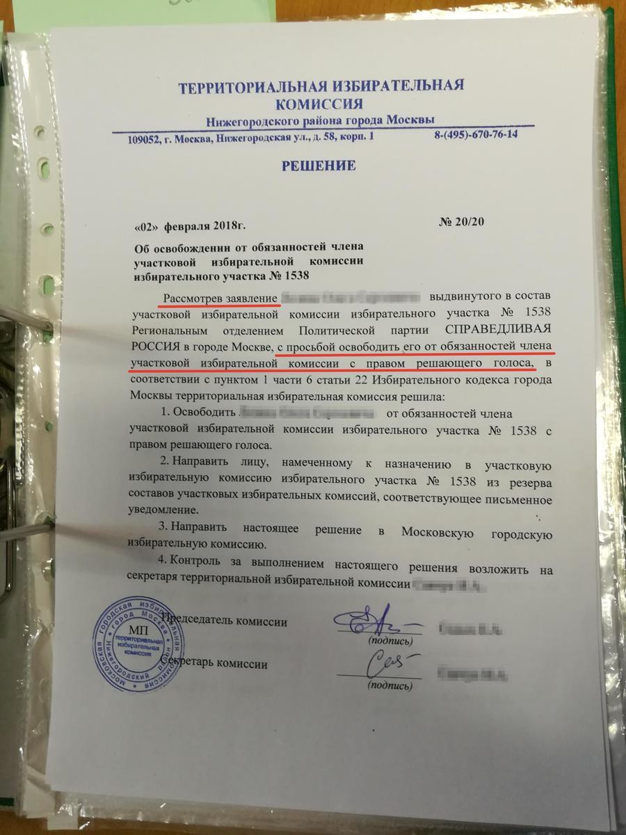 Член тик с правом совещательного голоса административные провонарушения